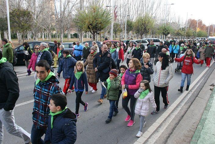 I Marcha por la Inclusión en Monzón