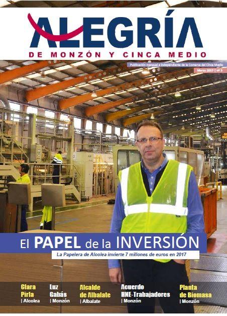 Alegría de Monzón y Cinca Medio Marzo 2017