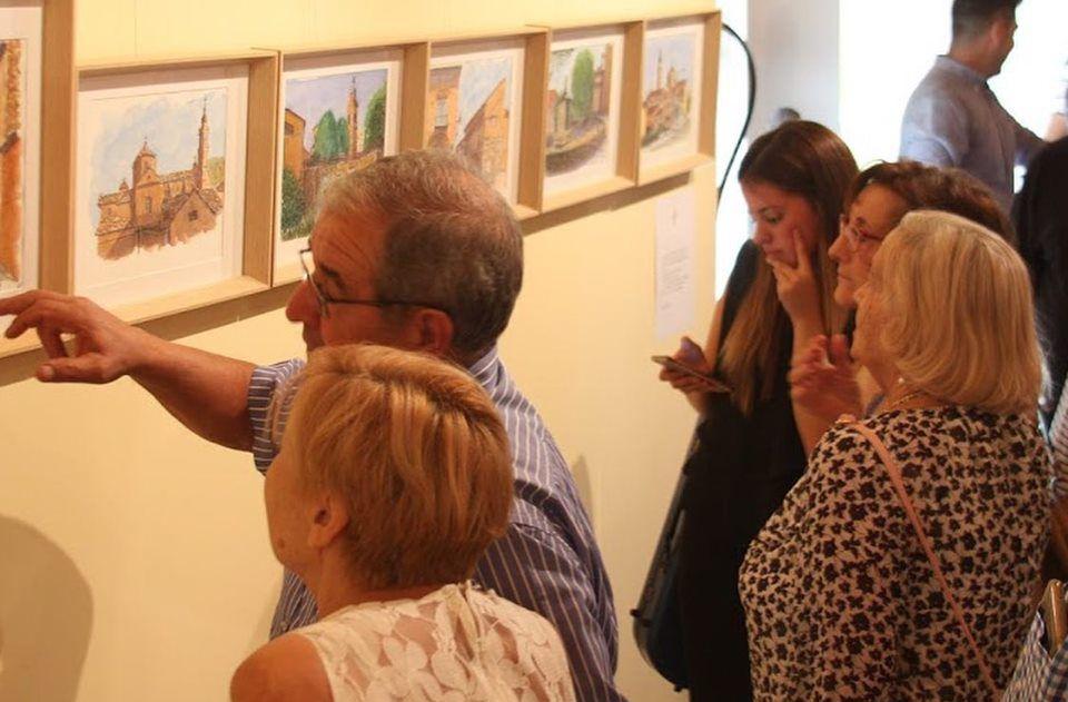 Numeroso público visitó la exposición